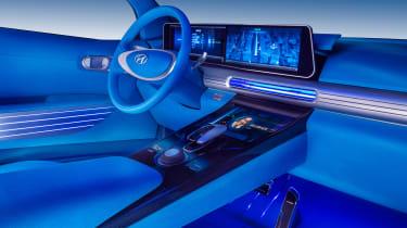 Hyundai FE Fuel Cell Concept - interior
