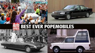 Best popemobiles - header pic