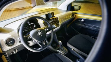 VW e-up - interior