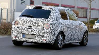 Honda Urban EV spied