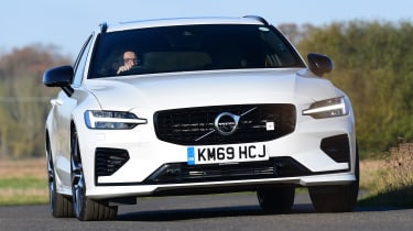 Volvo V60 Polestar Engineered - front action