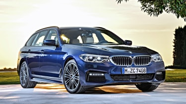 New BMW 5 Series Touring - front static