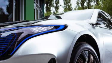 Mercedes EQ Concept - front detail