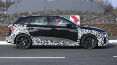 Audi RS3 2021 spy - side