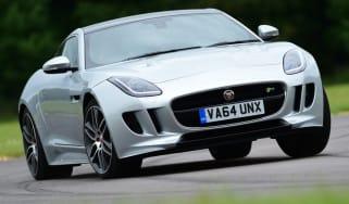 Jaguar F-Type R Coupe front cornering