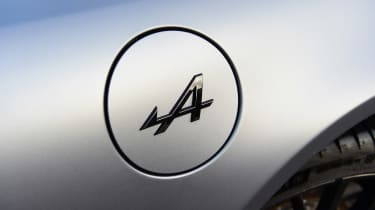 Alpine A110 S - fuel cap