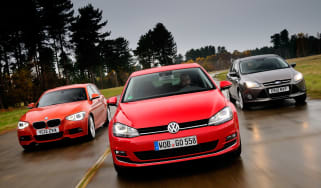 BMW 1 Series vs VW Golf and Ford Focus