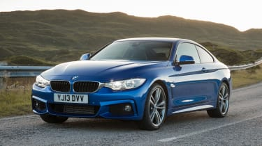 Used BMW 4 Series - front action