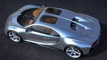 Bugatti Chiron Sky View - rear