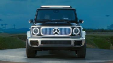 Mercedes Concept EQG - full front
