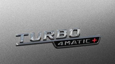 Mercedes-AMG CLA 45 Shooting Brake badge
