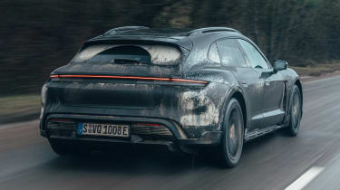 Porsche Taycan Cross Turismo prototype - rear