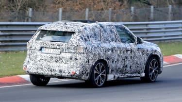 New BMW X1 - rear