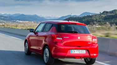 New Suzuki Swift 2017 - rear tracking