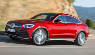 Mercedes GLC Coupe - front tracking