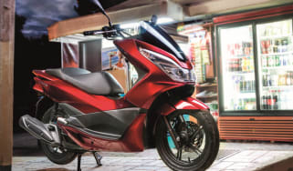 Honda PCX 125 review - header
