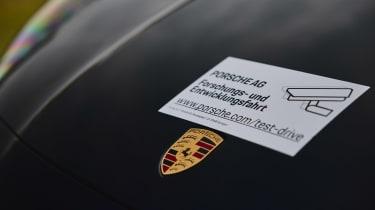 Porsche Cayenne Coupe prototype - sticker