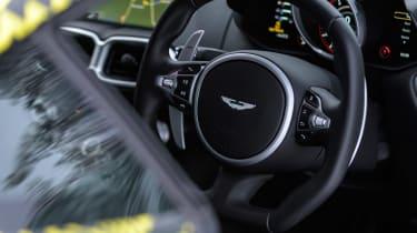 Aston Martin Vantage prototype - interior