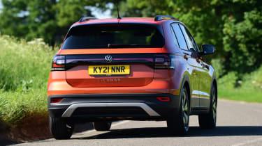 Volkswagen T-Cross Black Edition - rear