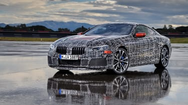 New BMW 8 Series static