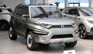 Ssangyong XAV concept - front