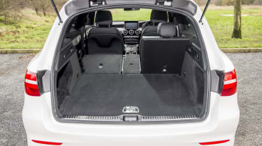 Mercedes GLC 250d 2016 - boot space