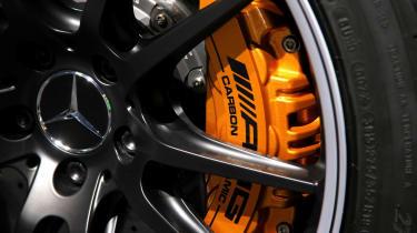 Mercedes-AMG brake caliper