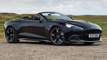 Aston Martin Vanquish S Volante - parked