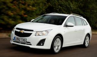 Chevrolet Cruze SW front action