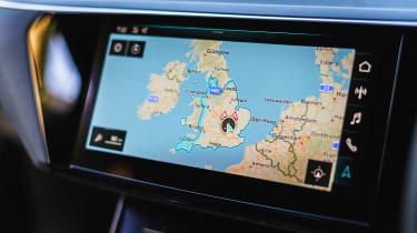 Audi e-tron - map