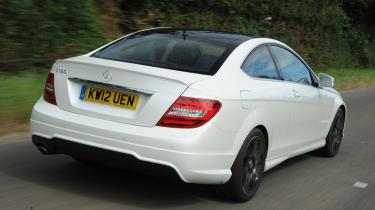 Mercedes C180 Coupe rear
