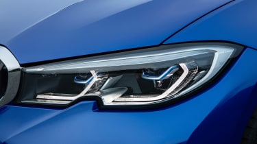 BMW 3 Series - blue front light