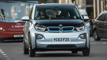 BMW i3 in london