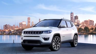 2017 Jeep Compass - static front quarter