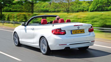 BMW 2 Series Convertible - rear tracking