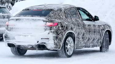 BMW X4 M rear end