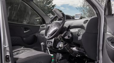 Disability driving feature - interior