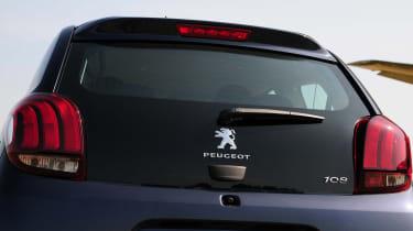 Peugeot 108 badge