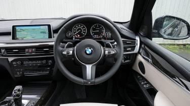 BMW X5 M50d Cabin