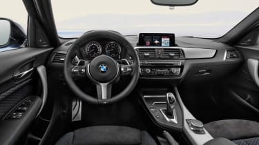 2017 BMW 1 Series upgrades cabin