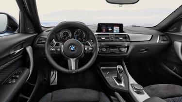 2017 BMW 1 Series upgrades cabin