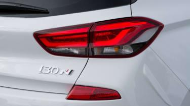 Hyundai i30 N - tail-light white