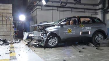 Peugeot 3008 safety NCAP test