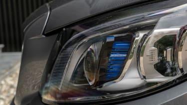 Mercedes C-Class Cabriolet - headlight