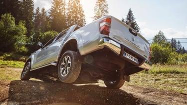 Renault Alaskan - off-road rear action