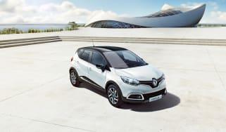 Renault Captur Iconic Nav front header