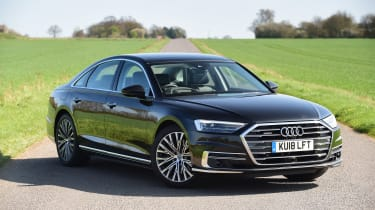 Audi A8 55 TFSI - front static