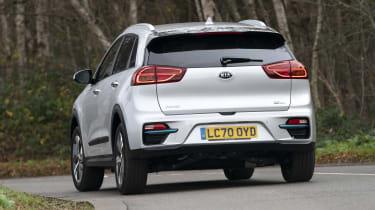 Kia e-Niro Mid Range - rear cornering