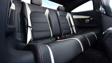 Mercedes-AMG C 63 S - back seats