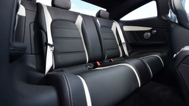 Mercedes-AMG C 63 S - back seats